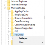 Manually Import Bookmarks & Favorites into Microsoft Edge