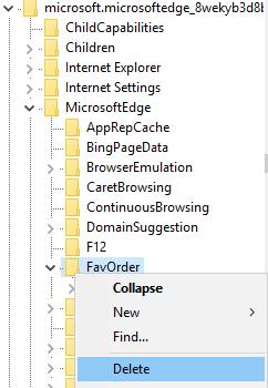 Edge FavOrder
