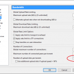 How to Disable Upload (Turn Off Seeding) in uTorrent