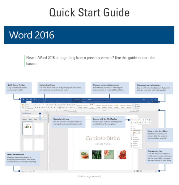 how to find tools on microsoft word 2016
