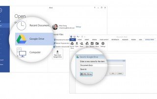 Google Drive Add-In to Open and Save Office Files