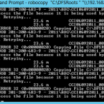 Skip Open Files Used by Another Process to Continue RoboCopy Copy or Move
