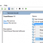 TeamViewer Protocol Negotiation Failed Error When Remote Control