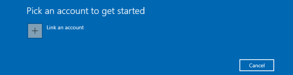Link an Account for Windows Insider
