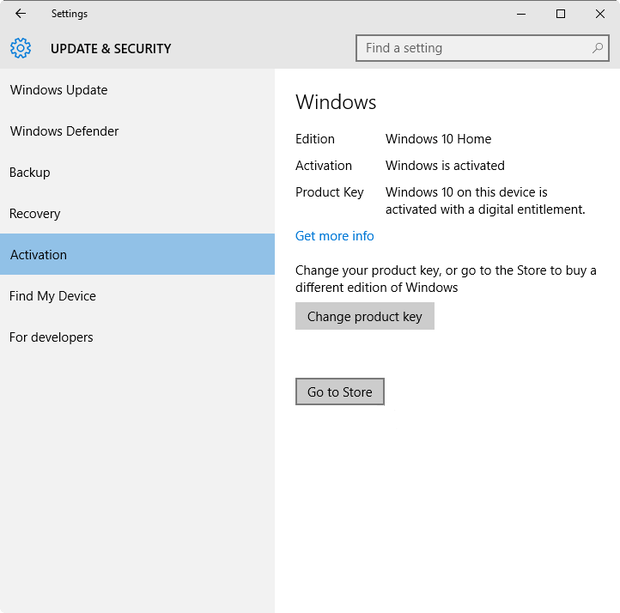Upgrade switch from windows 10 home to windows 10 pro for Window 10 pro product key