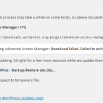 WordPress Plugin & Theme Updates Failed to Write Request To Temporary File