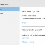 How to Download & Install Feature Update to Windows 10 Version 1607 (Anniversary Update)