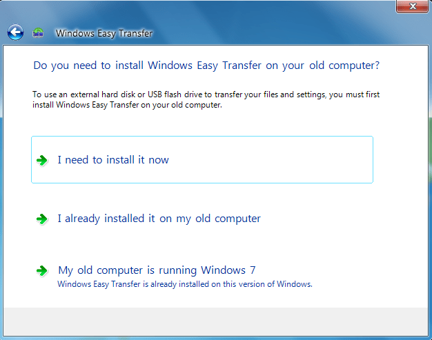 windows 7 migwiz