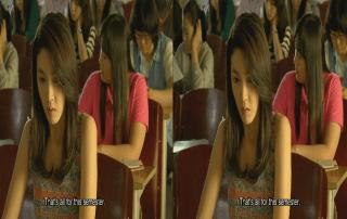 3D Movie with 3D Subtitle