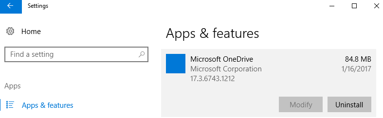 Official Way to Uninstall & Remove OneDrive in Windows 10 - Tech ...