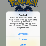 Fix PokeGo++ 2.0 Tweak for Pokemon Go New Latest Version Crashed on Load or Play