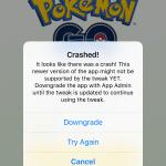 Fix PokeGo++ 2.0 Tweak for Pokemon Go New Latest Version Crashed on Load or Play