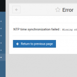 Missing ntpdate And sntp Commands in Webmin