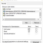 Take Ownership & Grant Full Control Permissions on Registry Key in Windows 10