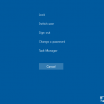 How to Switch User Account (Fast User Switching) in Windows 10