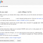 Recover & Reset Google Apps / G Suite Admin Account Password via Domain Verification