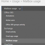 Check Users Mailbox Storage Usage Size in Office 365 (Exchange)