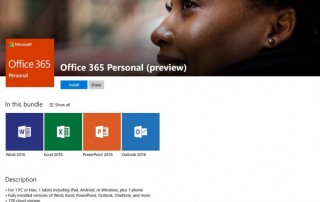 Office in the Windows Store