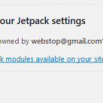 How to Access & Activate or Deactivate All Jetpack Modules' Settings in WordPress