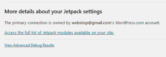 Jetpack All Modules Control