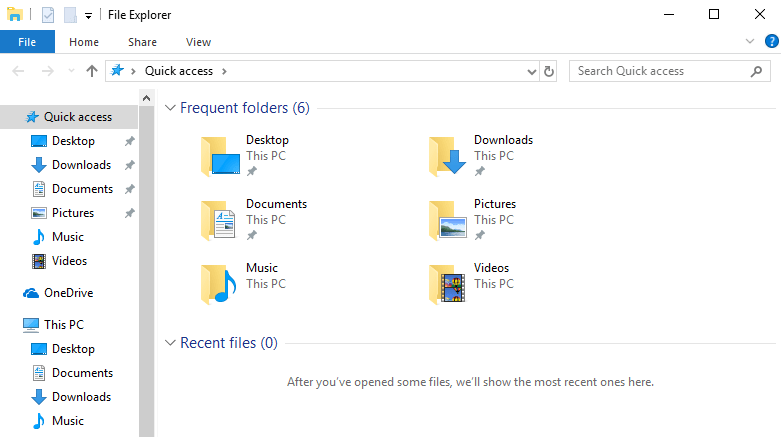Remove 3D Objects from This PC Folders and File Explorer Navigation Pane