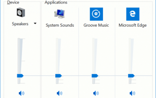 Windows 10 Volume Mixer to Control Desktop and UWP Store Apps