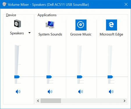 How to Change & Adjust Volume of Windows Store UWP Apps