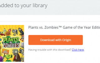 Plants vs. Zombies Game of the Year Edition
