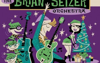 Brian Setzer Band Christmas Rocks Live Collection