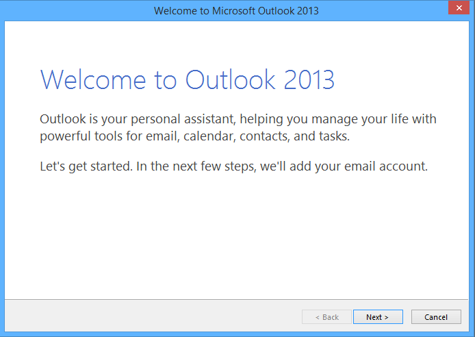 How to Reset Outlook 2016 / 2013 / 2010 to First Run State