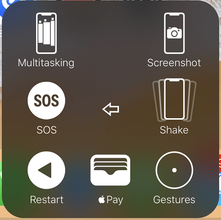 Take Screenshot via Assistive Touch Menu