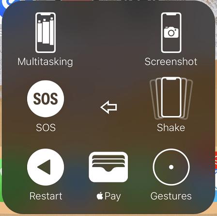 Take Screenshot via Assistive Touch Menu