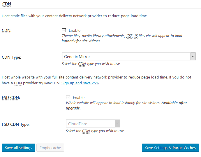 Fix WordPress W3 Total Cache (W3TC) Uncaught Exception Unknown