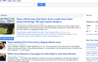 Google News Classic Old Layout Format