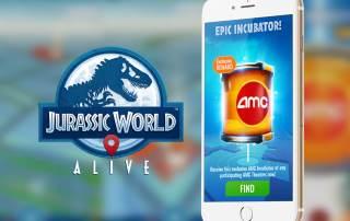 AMC Epic Incubator in Jurassic World Alive