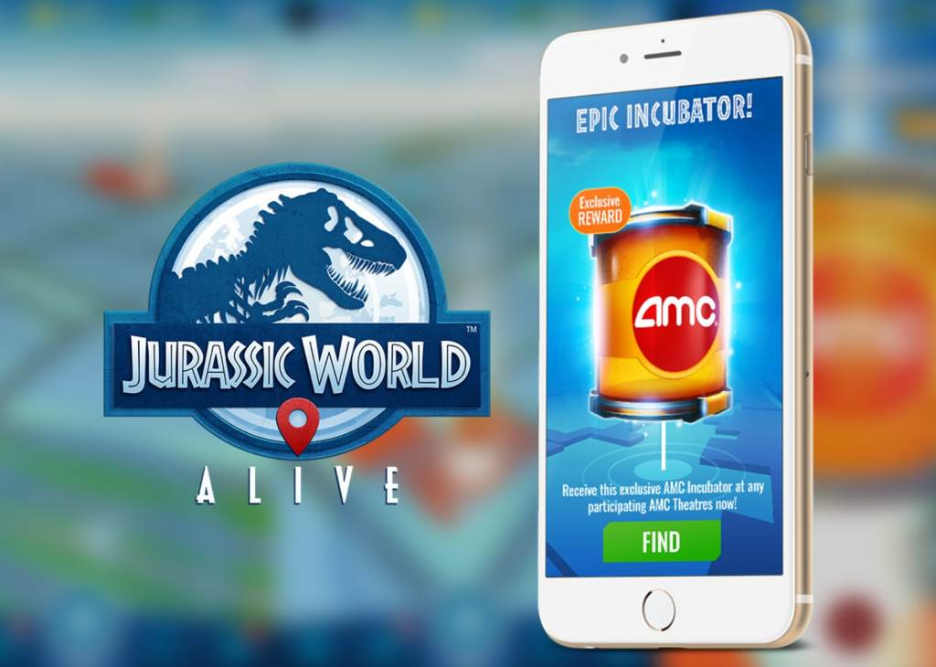 AMC Epic Incubator in Jurassic World Alive
