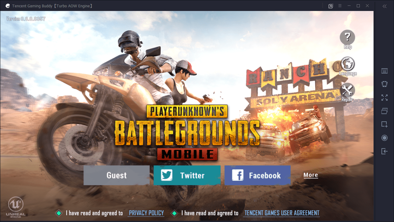 tencent pubg mobile emulator language change