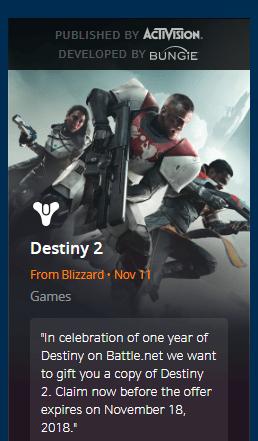 Free Destiny 2