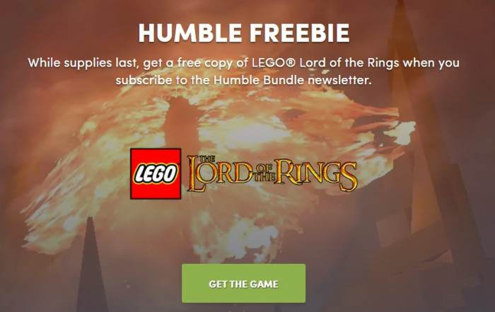 Lego The Lord of the Rings Free Full Game