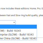 Download Windows 10 19H1 v1903 Insider Preview Build 18343 ISO Images