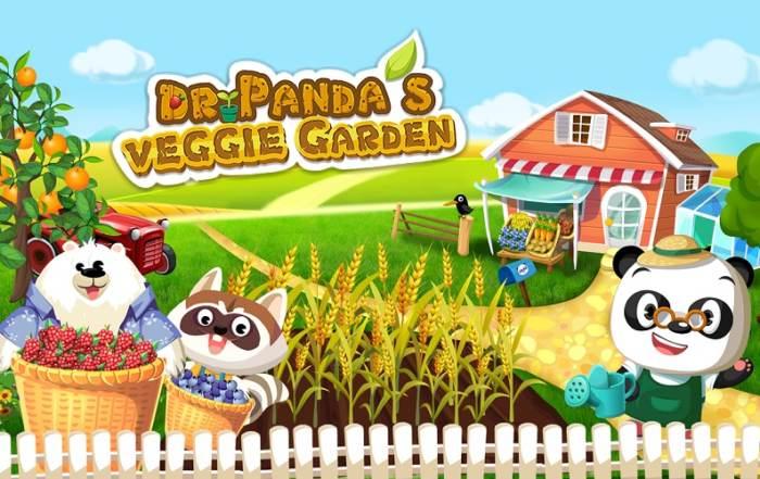 Dr Panda's Veggie Garden