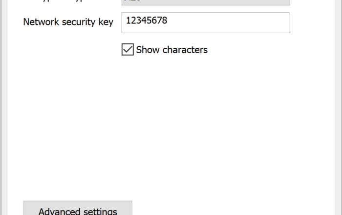 Show Characters to View Saved Wi-Fi Password
