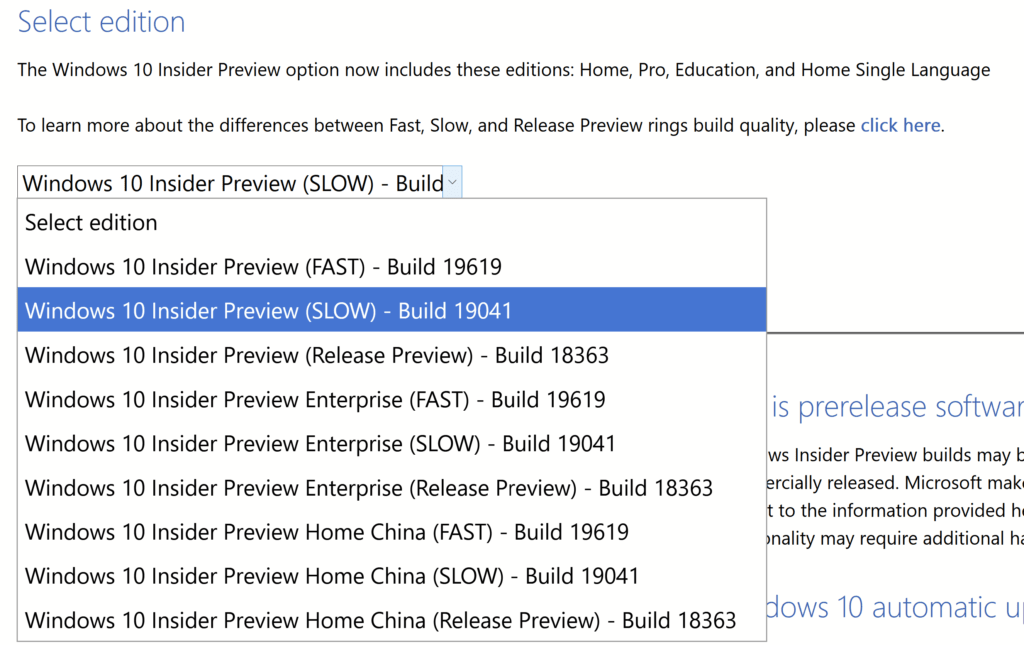 Download Windows 10 Insider Preview ISO